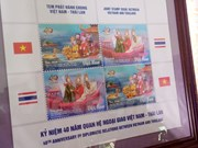 Vietnam y Tailandia publican colección de estampillas postales comunes