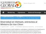 Prensa argentina destaca éxitos vietnamitas en trabajo étnico