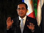 Premier de Tailandia se compromete a celebrar elecciones generales en 2017