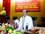 Piden en Vietnam eficaz gestión del gobierno para resolver problemas apremiantes