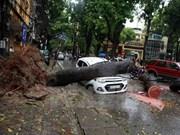 Exhortan en Vietnam a mejorar pronóstico de tormentas