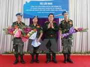 Vietnam prepara despliegue de hospital de campaña para operaciones de paz de ONU