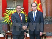 Presidente de Vietnam destaca asociación estratégica con Indonesia