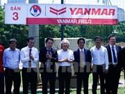 Yanmar continúa siendo patrocinador oficial de la selección de Vietnam de fútbol