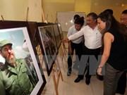 Exposición fotográfica en Hanoi para celebrar 90 cumpleaños de Fidel