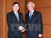 Buscan fortalecer cooperación parlamentaria entre Vietnam y Laos