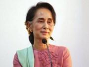 Asesora de Estado de Myanmar aboga por unidad nacional