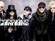 Banda de rock Scorpions actuará en Vietnam