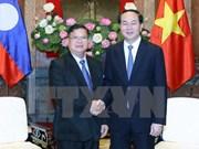 Presidente vietnamita reafirma prioridad de relaciones con Laos