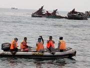 Indonesia hunde decenas de pesqueros ilícitos en sus aguas