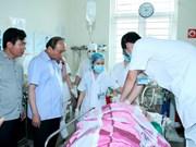 Premier dirige solución del ataque con arma contra altos funcionarios de Yen Bai