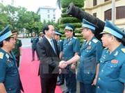 Presidente de Vietnam enfatiza garantía de secretos militares en era digital