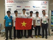 Vietnam gana dos oros en Olimpiada Internacional de Informática