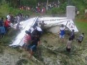 Se estrella avión de entrenamiento en el Oeste de Indonesia