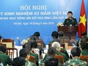 Activa participación de Vietnam en las actividades en mantenimiento de la paz