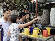 Jóvenes exploran aldeas artesanales tradicionales de Hanoi