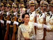 Paz es el objetivo principal en Myanmar, dijo Aung San Suu Kyi