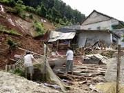 Al menos siete muertos por tifón Dianmu en Vietnam