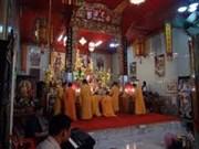 Colocan tabla de nombre para pagodas vietnamitas en Tailandia