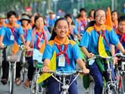 Ciudad Ho Chi Minh invierte en actividades para niños