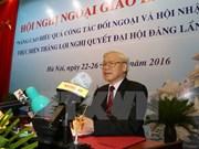 Inauguran Conferencia de Diplomacia de Vietnam