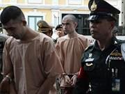 Aplazan fecha de juicio contra sospechosos de ataque con bomba en Tailandia