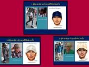 Tailandia publica retratos hablados de sospechosos en ataques con bombas en el Sur