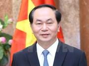 Presidente de Vietnam destaca relaciones con Francia