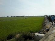 Un fallecido en accidente de avión militar durante entrenamiento en Vietnam