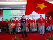 Atletas vietnamitas parten para Juegos Paralímpicos Rio 2016