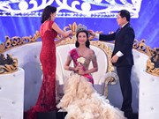 Do My Linh se corona como Miss Vietnam 2016