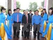 Líder partidista reitera confianza del pueblo vietnamita en la juventud nacional