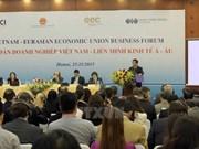 Buenas perspectivas para Vietnam por TLC con Unión Económica Euroasiática