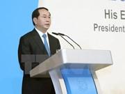 Presidente vietnamita habla sobre el papel de ASEAN en la estructura regional