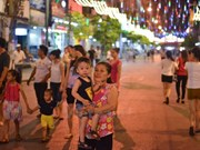 Calles del Centro de Hanoi brillarán con vida nocturna cada fin de semana