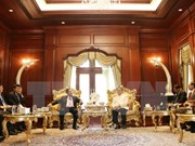 Vietnam y Laos intensifican cooperación entre organizaciones políticas