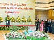 Primer ministro de Vietnam ofrece banquete en ocasión del Día Nacional