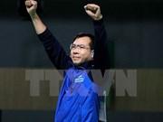 Hoang Xuan Vinh encabeza ranking mundial en pistola de 10 metros