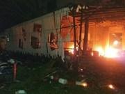 Tailandia detiene primer sospechoso de bombas en zonas turísticas