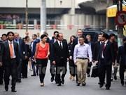 Presidente francés alaba labores de preservación del casco antiguo de Hanoi
