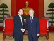Fortalecen nexos entre partidos gobernantes de Vietnam y Japón