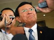 Corte de Phnom Penh sentencia a líder opositor a cinco meses de prisión