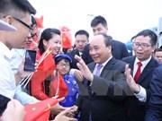 Premier asiste a apertura de zona de exposición vietnamita en CAEXPO 2016