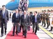 Primer ministro de Vietnam llega a Beijing