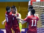 Vietnam gana 4-2 a Guatemala en la Copa Mundial de fútbol sala
