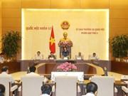 Comité Permanente de Parlamento de Vietnam inicia tercera sesión