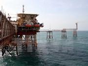 Vietsovpetro instala obra muerta de plataforma petrolífera en el mar