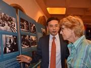 """En París exposición """"Presidente Ho Chi Minh y amistad Vietnam – Francia"""""""