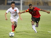 Vietnam cosecha primera victoria en campeonato regional de fútbol sub-19