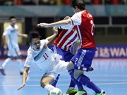 Vietnam pierde ante Paraguay en Copa Mundial de fútbol sala
